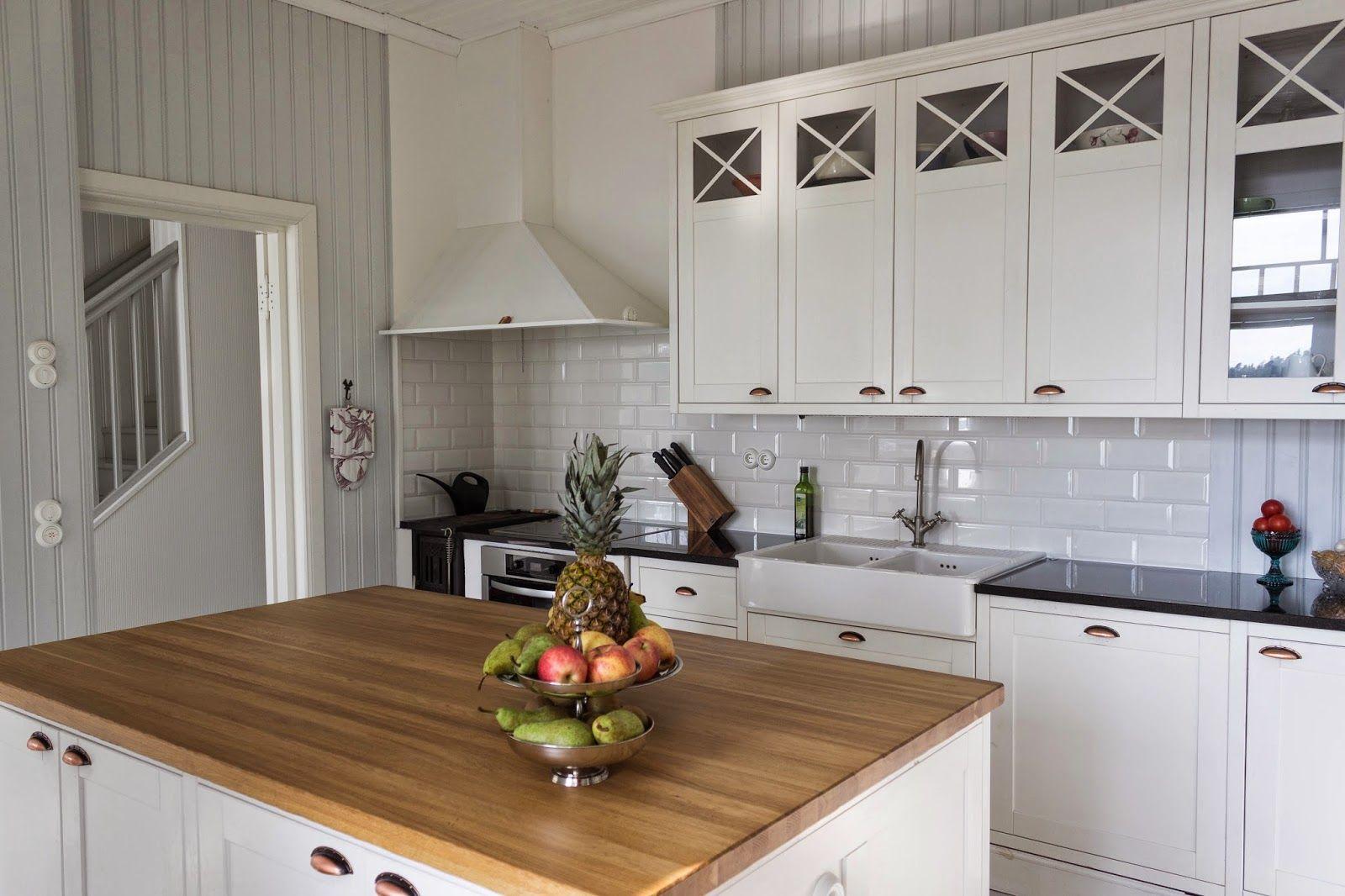 maalaisromanttinen keittiö  Google haku  Keittiö  Pinterest  Kitchen