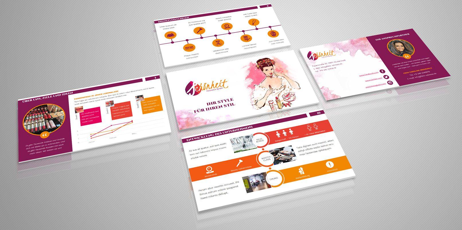 Moderne PowerPoint-Vorlagen | Powerpoint vorlagen, Vorlagen und Auftritt