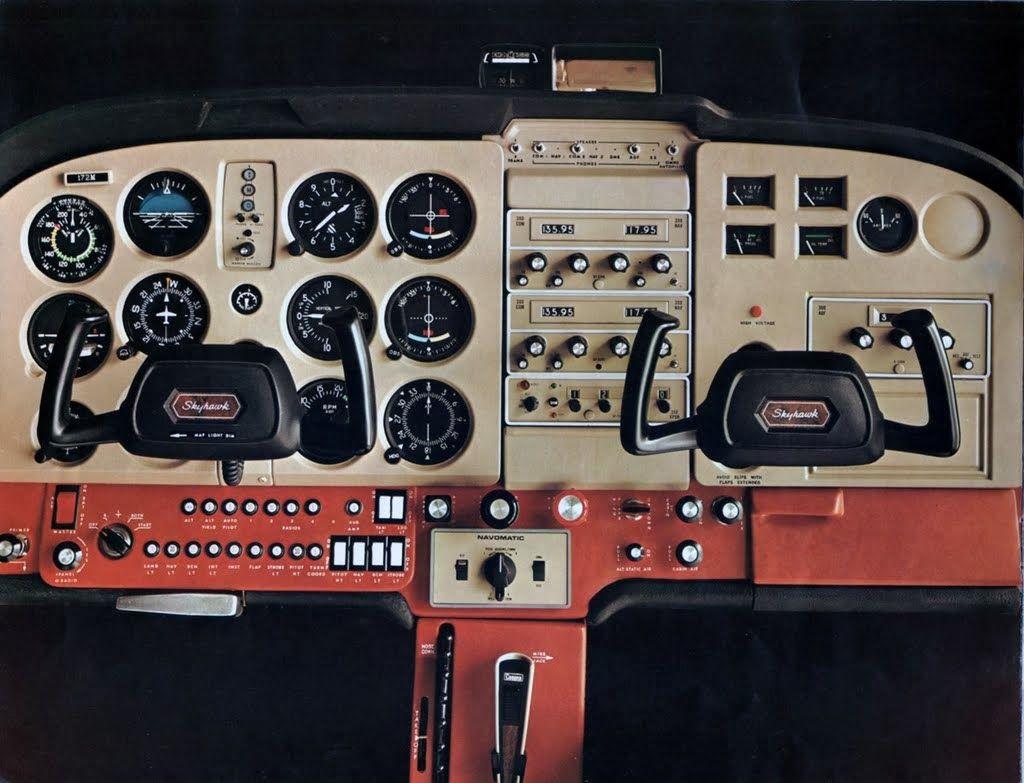 1974 Cessna 172 instrument panel | Aviation | Cessna 172