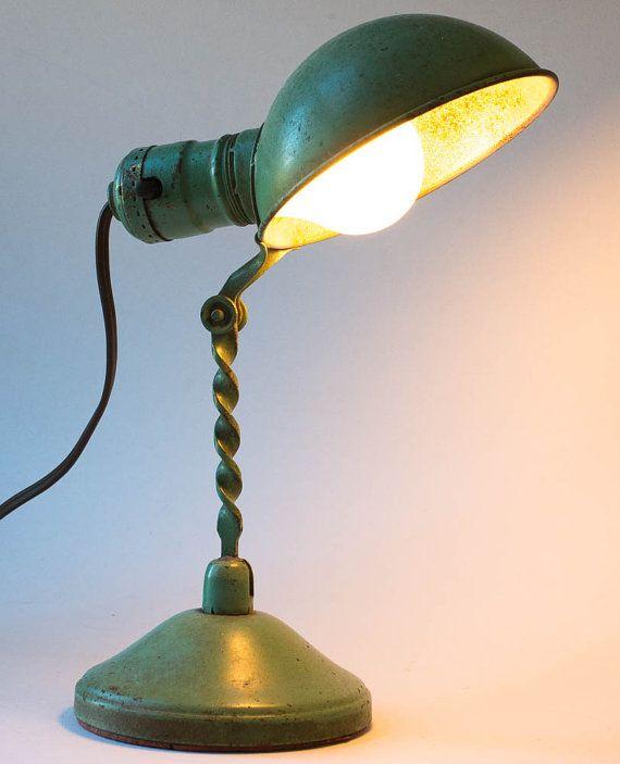 Industrial Desk Lamp Vintage Lampe De Bureau Lamp Bureau Industriel