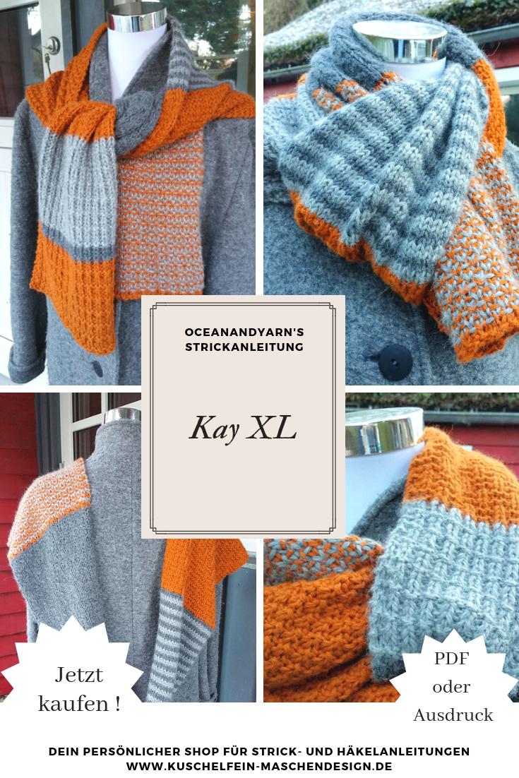 Photo of Strickanleitung Kay XL von oceanandyarn – Oceanandyarn – Ihre DIY Anleitung für …