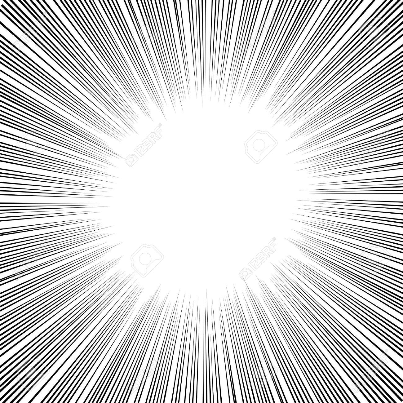 21536036 Radial Speed Lines Graphic Effects For Use In Comic Books Manga And Illustration Stock Vector Jpg 1300 1300 Screentone Comic Book Layout Manga Comics