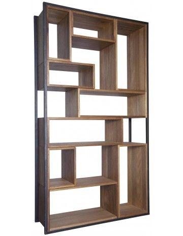 Modern Bookcase + Shelves Bauhaus Bookcase - Bookcases - Accent