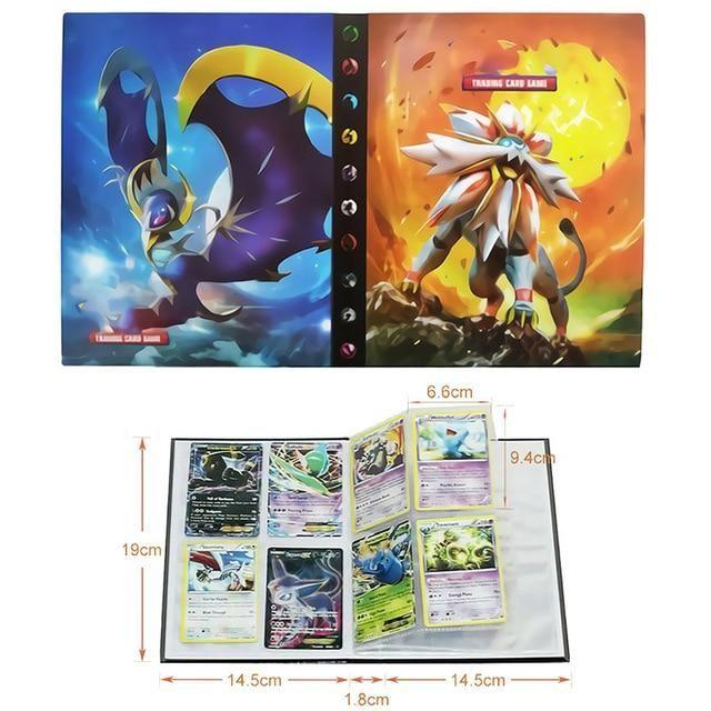 Photo of Pokemon Cards Album Book Cartoon – Anime 80/240PCS Game Cards – 21
