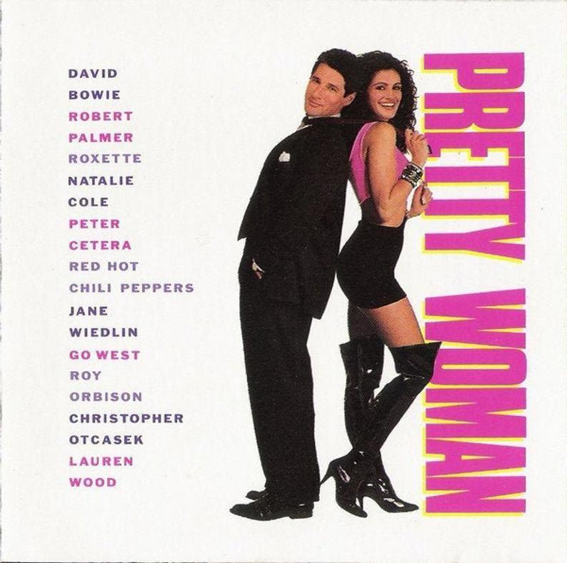 Soundtrack Cds 80s 90s The Big Chill Pretty Woman The Etsy In 2020 Pretty Woman Movie The Wedding Singer Pretty Woman Soundtrack