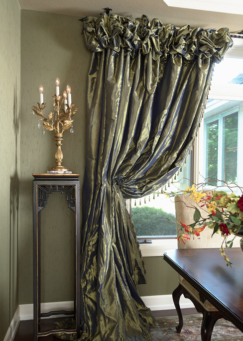 Lexi Bedroomcurtainsnot That Type Of Fabric But That Type Of Entrancing Formal Dining Room Curtain Ideas Decorating Design
