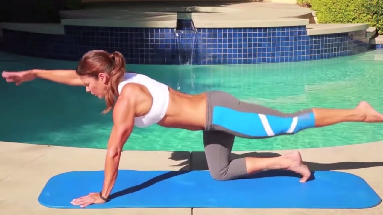 10 Best Upper-Ab Exercises - Ab Workout - Ab Exercises for Upper-Abs - YouTube #upperabworkouts