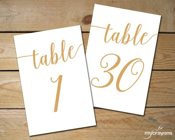 Prime Gold Table Numbers Printable 1 40 Caramel Gold Wedding Download Free Architecture Designs Embacsunscenecom