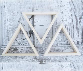 Set of 3 Triangle Shelves | Perrodin Supply Co