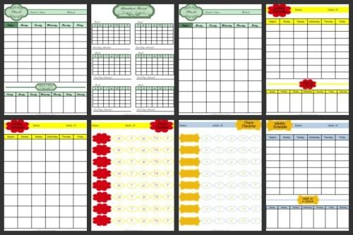 Freebies  Organized By SubjectTopic  Homeschool Attendance And