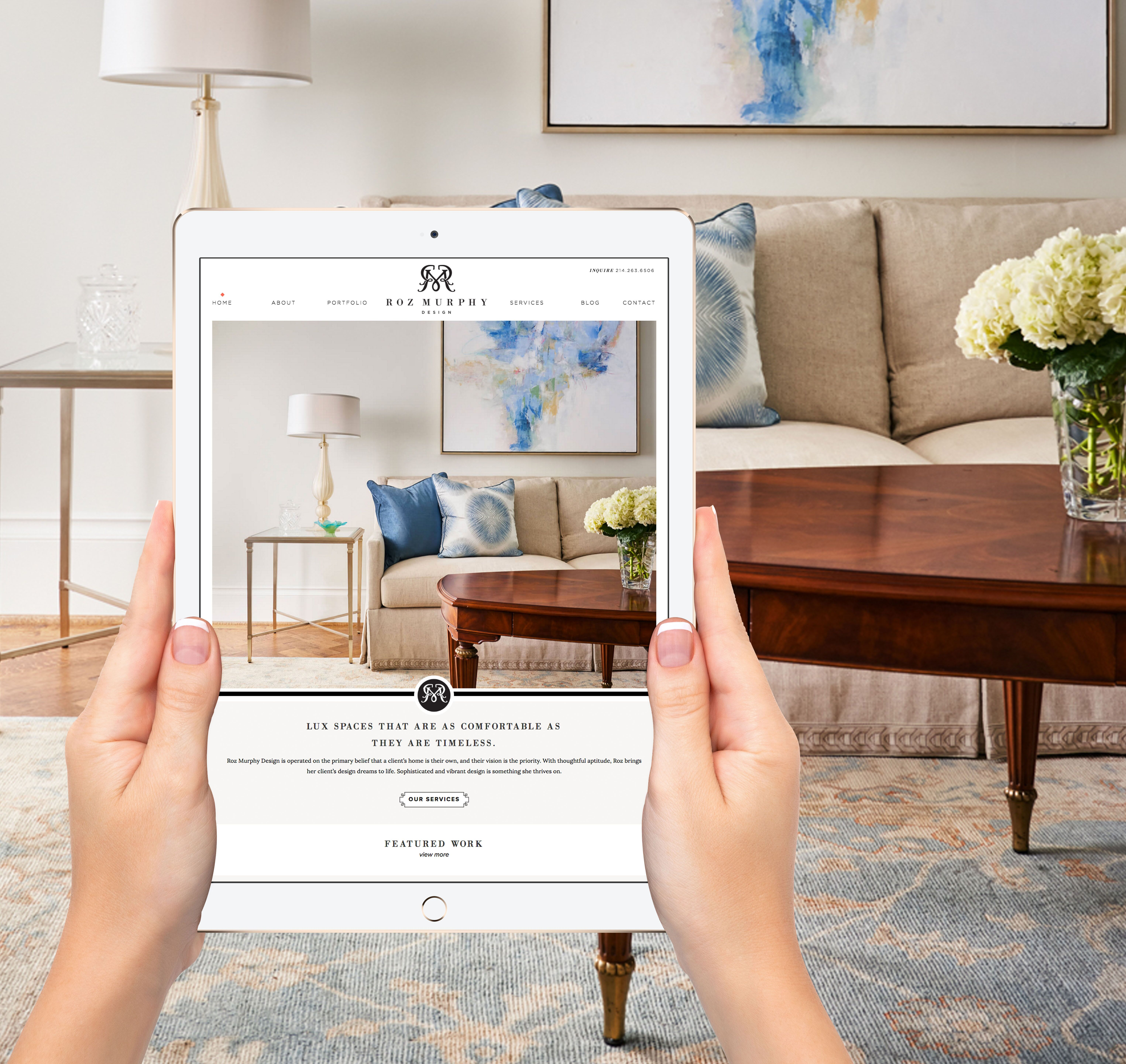 Our New Website Offers An Easy Way To Navigate Through The Portfolio Of Roz Murphy Design Click The L Study Interior Design Luxury House Designs Design Skills
