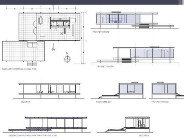 Roof plan pinteres for Farnsworth house floor plan