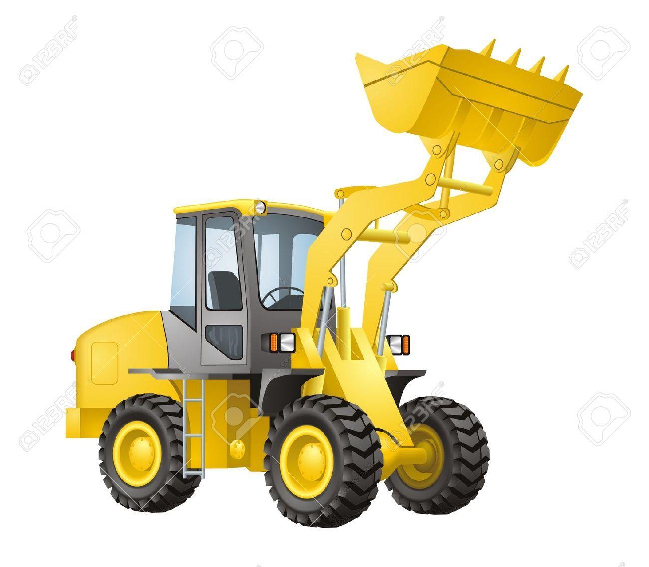 Excavator vector Stock Vector | Caterpillar equipment ...