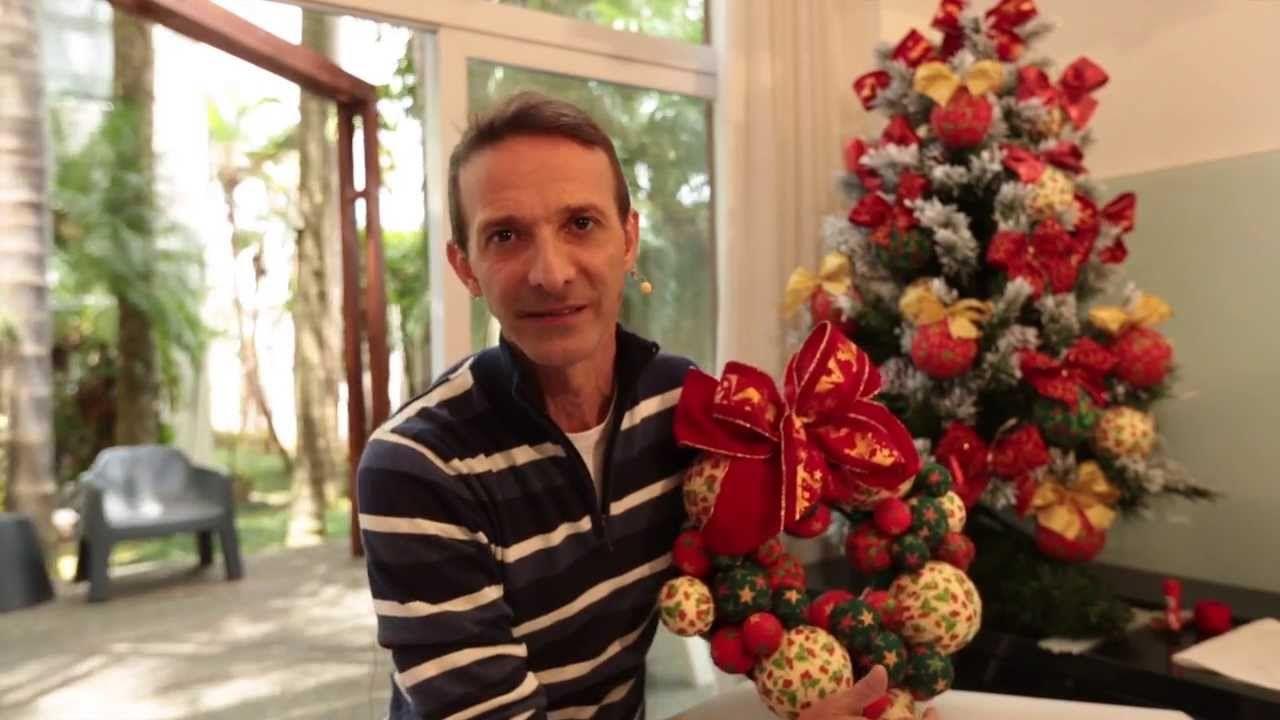 Árvore e Guirlanda de Natal com Patchwork- Marcelo Darghan