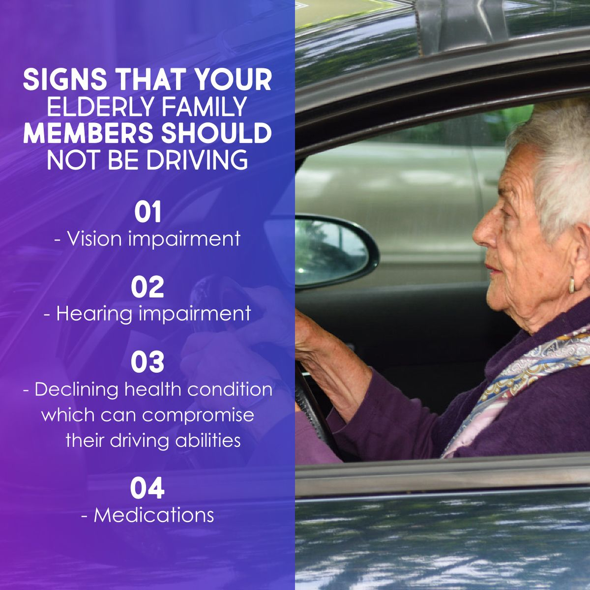 Signs That You Elderly Family Members Should Not Be