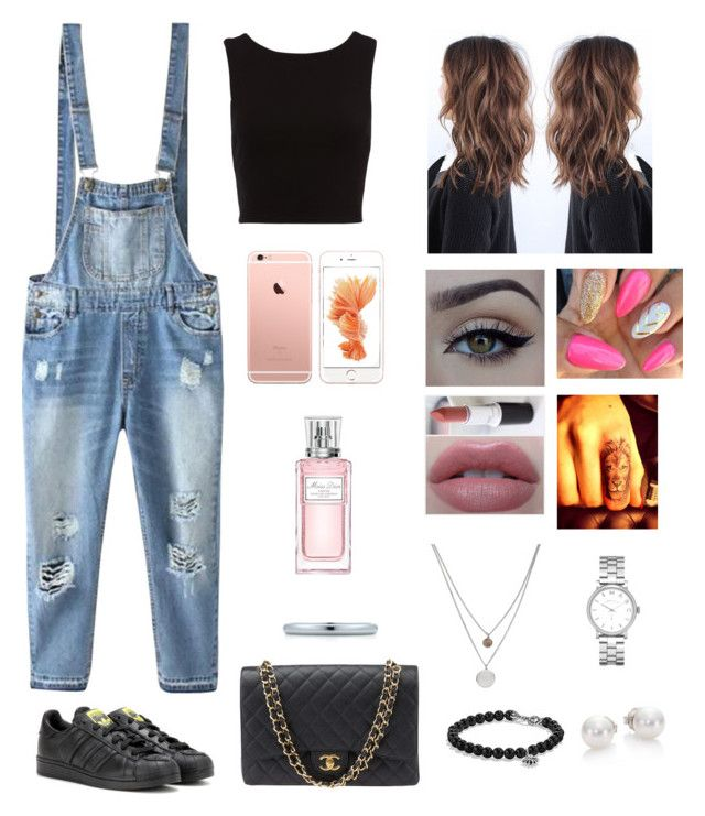 """Untitled #223"" by pinialepini on Polyvore featuring Relaxfeel, adidas Originals, xO Design, Marc by Marc Jacobs, Chanel, Kenneth Cole, David Yurman, Mikimoto, Christian Dior and Napoli"