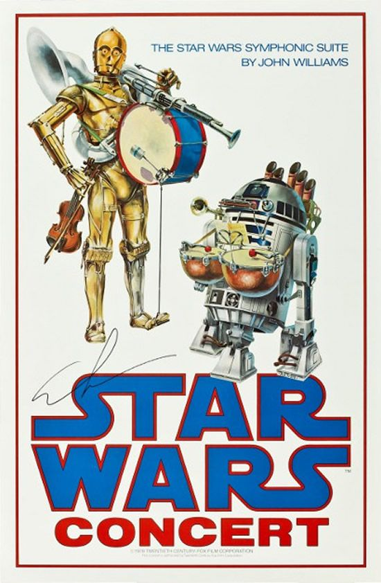Rare Star Wars Concert Poster Up For Auction