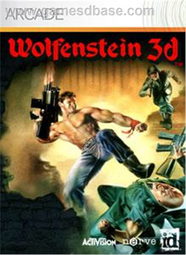 Wolfenstein 3d xbox 360 arcade my xbox 360 games for Wolfenstein 3d