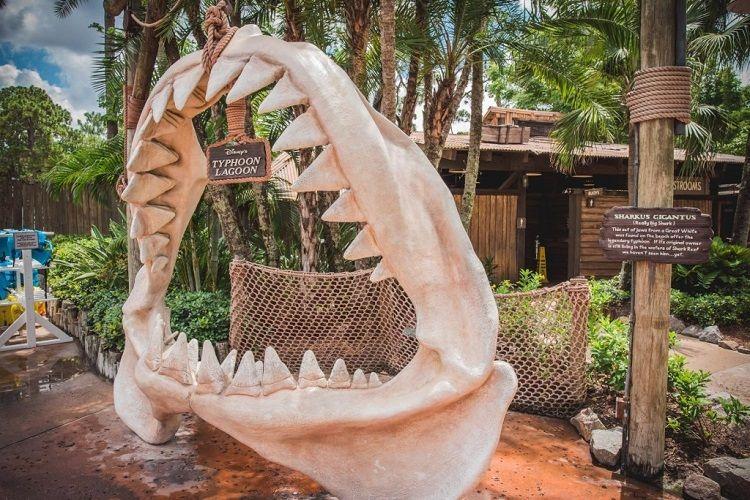 Typhoon Lagoon 'Sharkus Gigantus' jaws