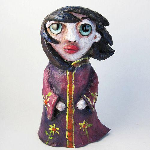 Kokeshi Doll by Christina Colwell on Flickr.Kokeshi Doll