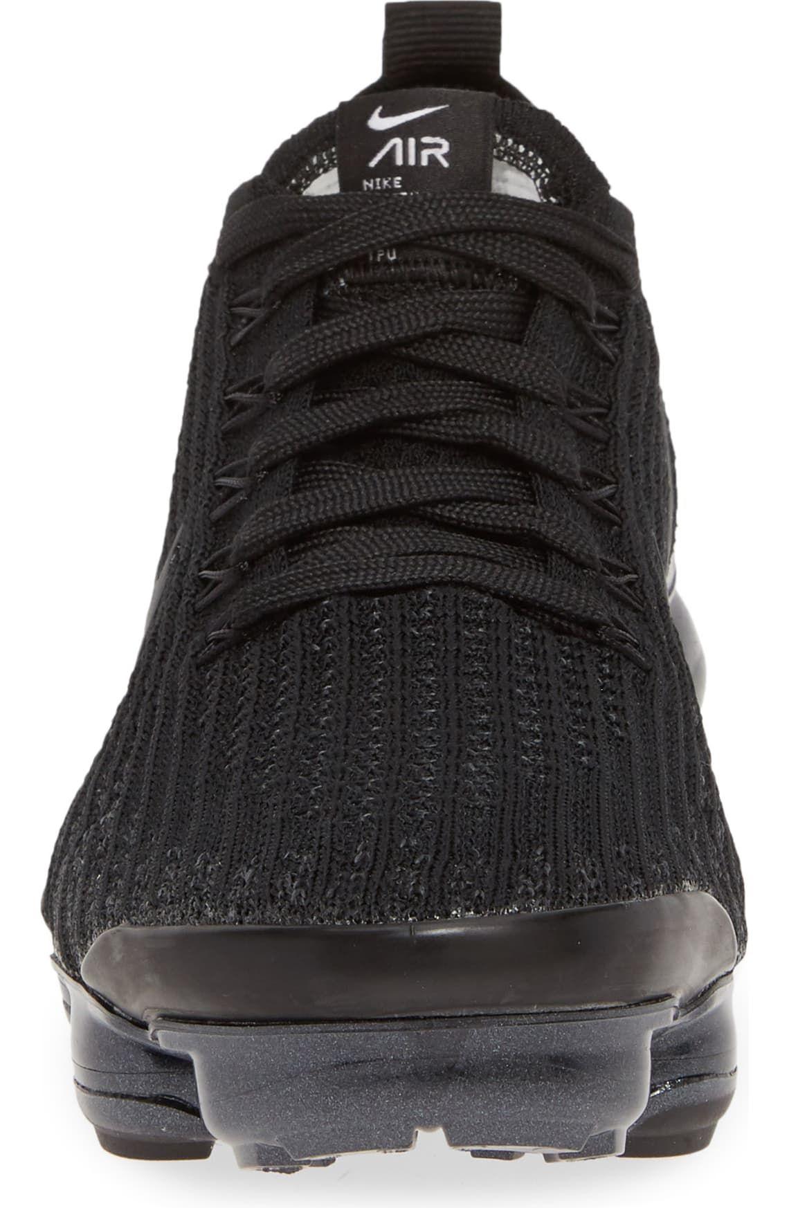 black knit vapormax