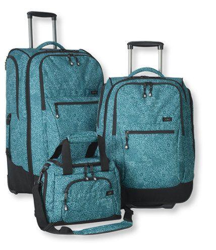 Carryall Luggage Set Print Luggage Sets Free Shipping At L L Bean Malas De Viagem Malas Viagem