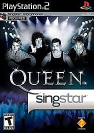 NEW FACTORY SEALED SingStar: Queen (Sony PlayStation 2, 2009)