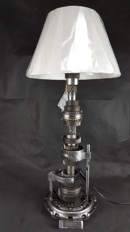 Lampe Engrenage Bmw 31 8 De La Boutique Mecadecodesign Sur Etsy Automotive Decor Car Part Furniture Car Parts Decor