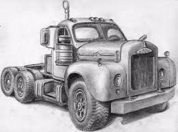 Resultado De Imagen Para Pencil Drawings Of Old Trucks Cuadros A