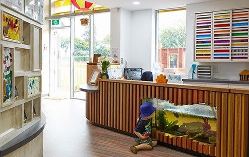 The Architecture Of Early Childhood Child Care Center Design Daycare Design Childcare