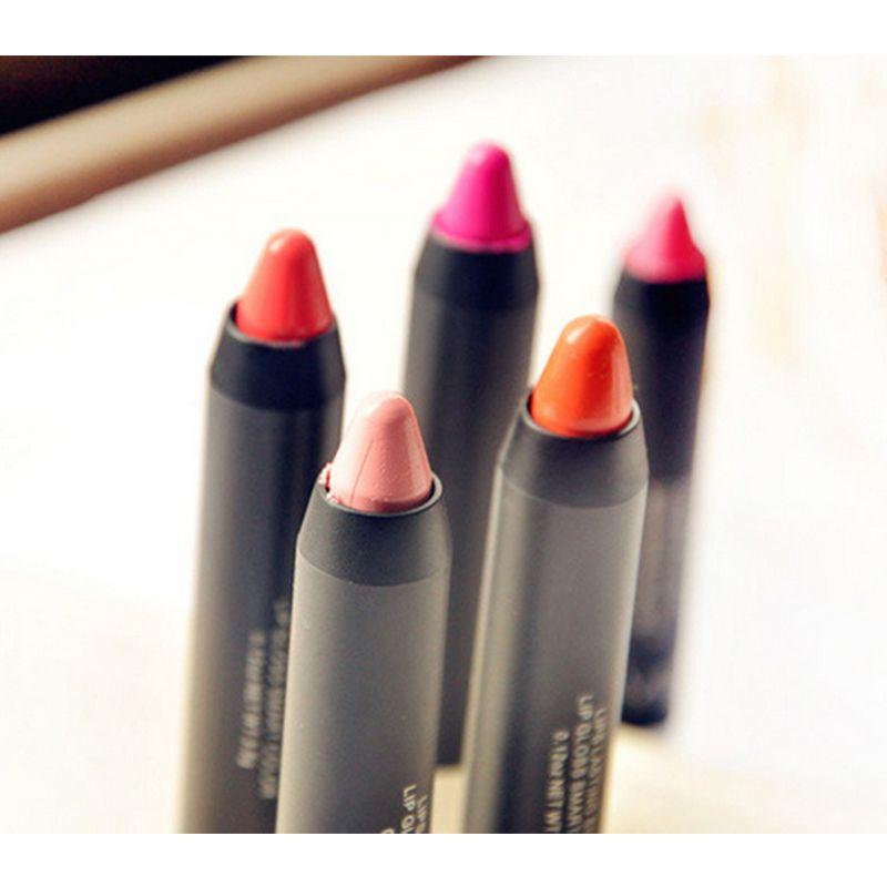 1Pc Matte Lipsticks Lip Sticks Gloss Cosmetics Pencil