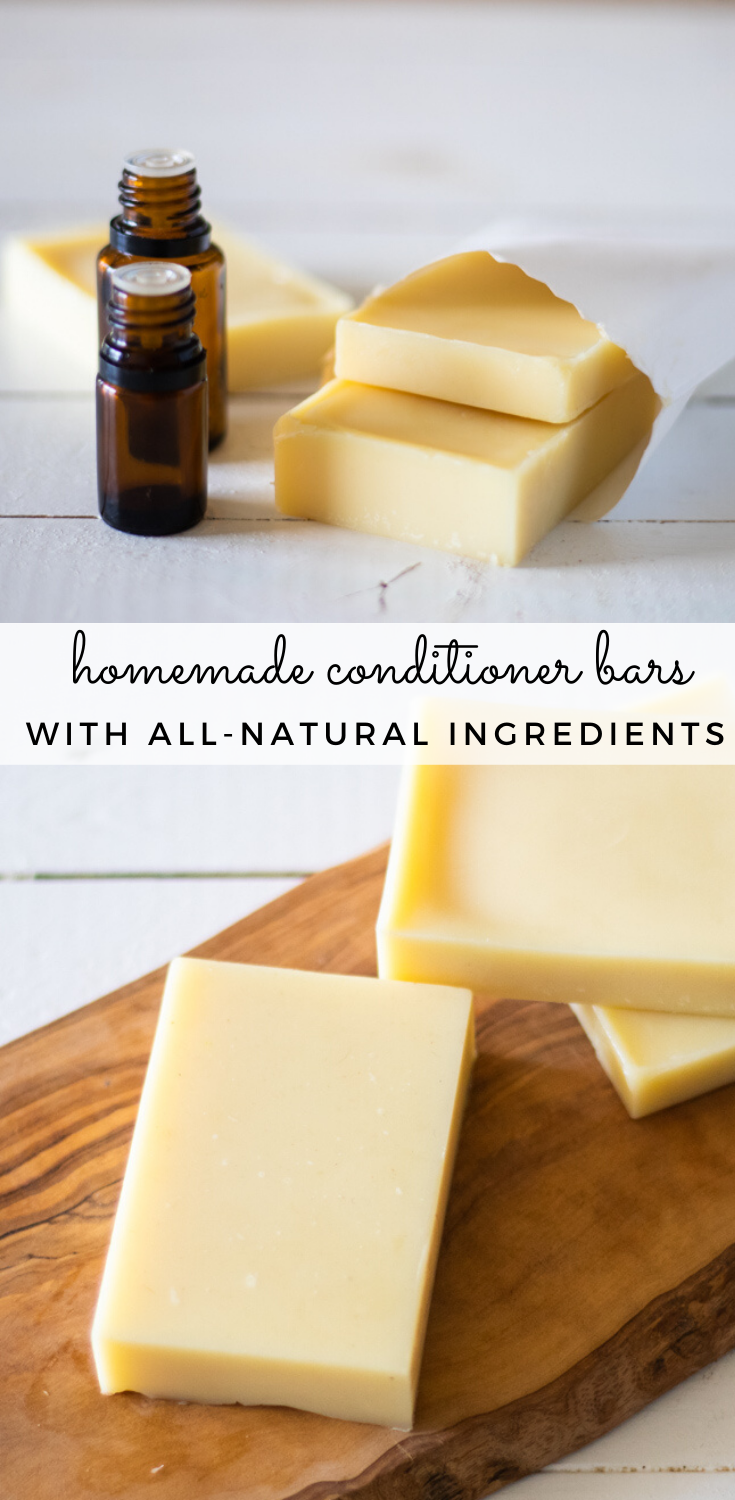 Homemade Conditioner Bars