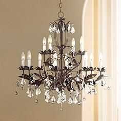 Kathy ireland venezia 12 light 28 wide bronze chandelier kathy ireland venezia 12 light 28 wide bronze chandelier aloadofball Gallery