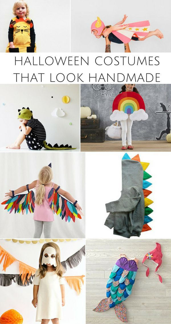 Adorable Halloween Costumes for Kids That Look Handmade.