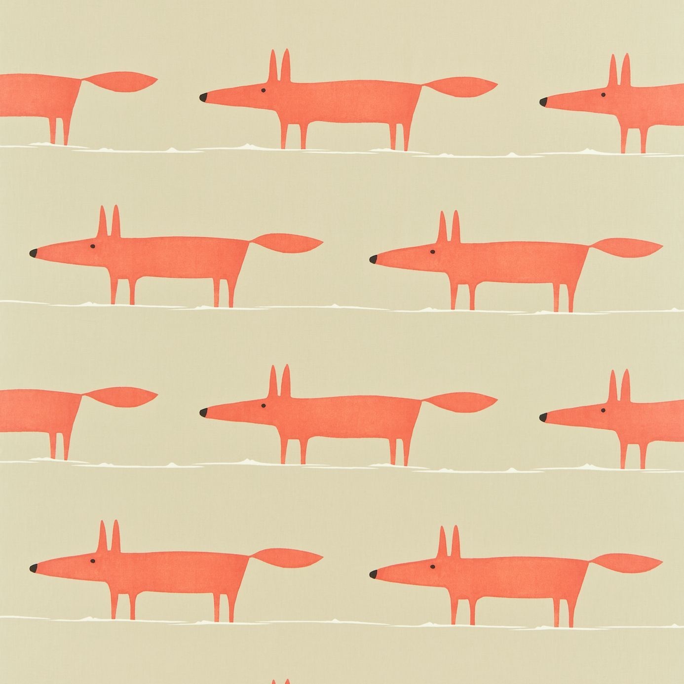 Mr Fox Fabric A Friendly Low And Long From Scion Available