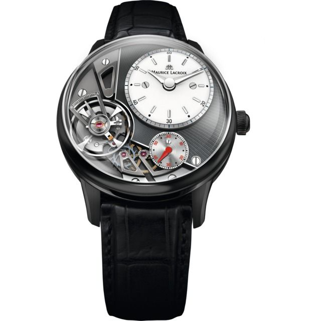 Maurice Lacroix Masterpiece Gravity Anthracite Grey PVD Steel