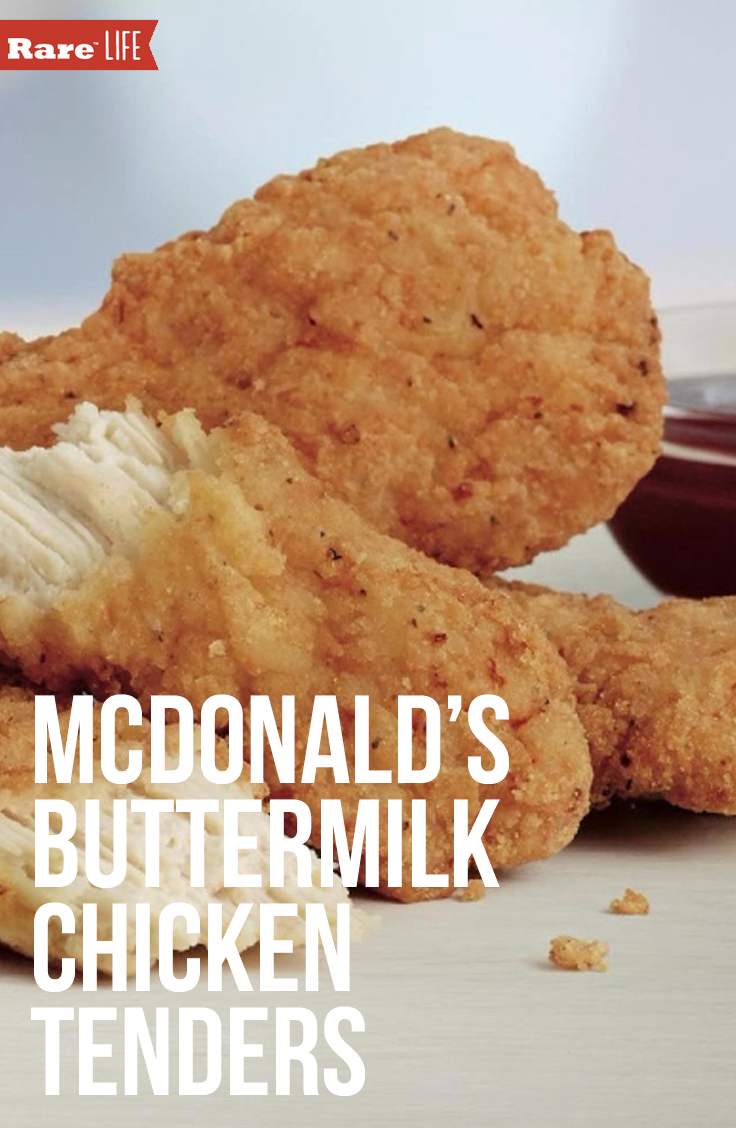 Southerners Are Rejoicing Over The New Mcdonald S Buttermilk Crispy Chicken Tenders Buttermilk Crispy Chicken Crispy Chicken Tenders Buttermilk Chicken Tenders