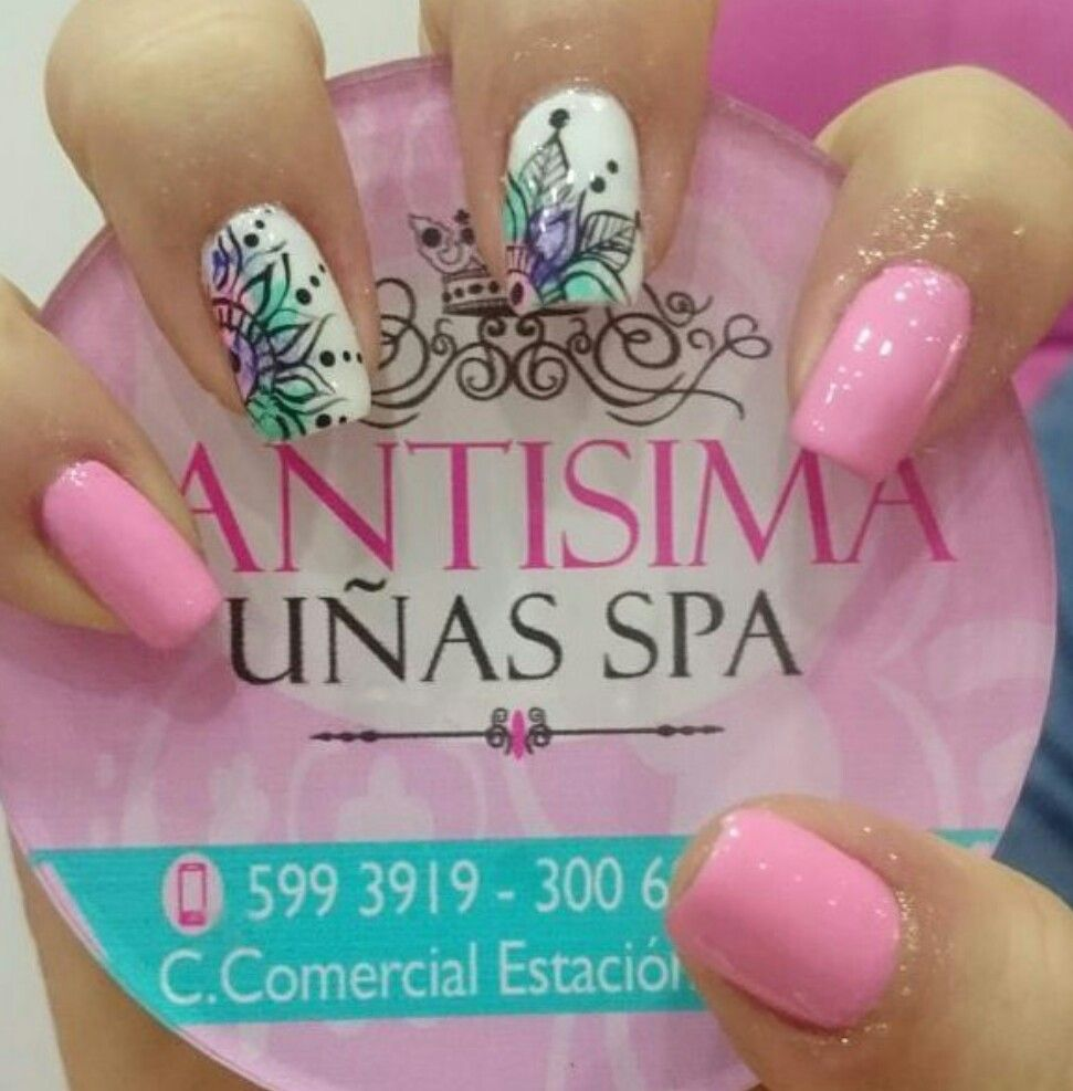 Pin de Katherine Santos en Diseño de uñas | Pinterest | Diseños de ...