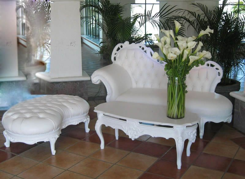 petit jardin deco gustavienne Salas Vintage QueremosFiesta Todo - salas vintage