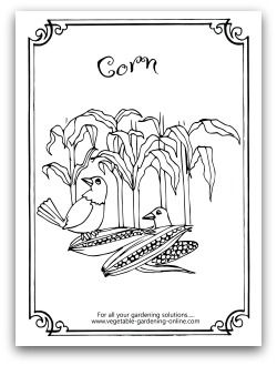 coloring pages free horticulture - photo#15