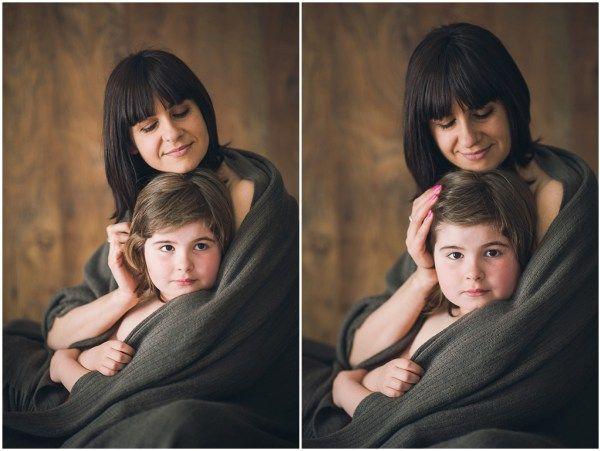 Family portrait: Ludovica and Giada, by Eleonora Festari.