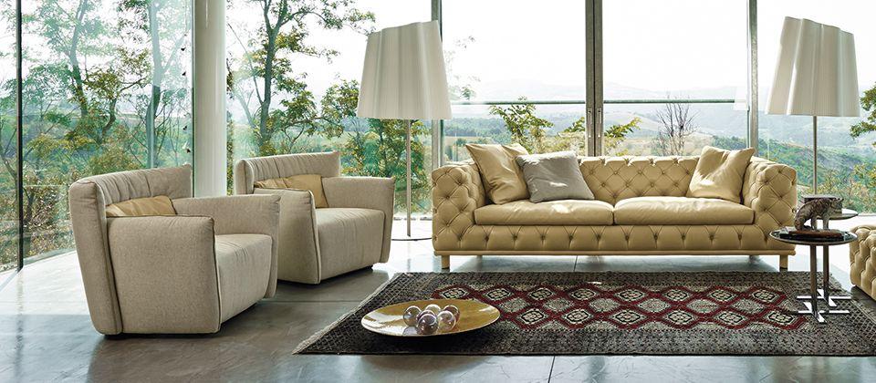 Gamma Arredamenti: Fall In Love With Leather | Cantoni Furniture, Tulip  Chair And Leather Furniture