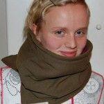 Schalkragen selber machen  #selbermachen #DIY #schal #kragen #kinder #winter