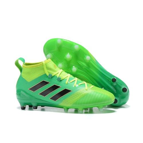 purchase cheap d0a53 c4e68 Adidas ACE 17.1 FG Amarillo Verde Botas De Futbol