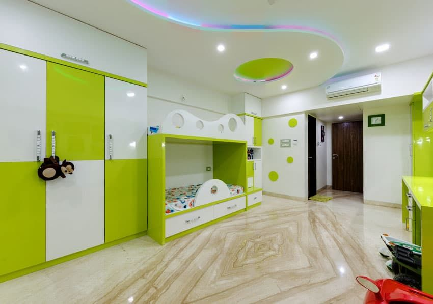 Kids Room Interior Modern Style Bedroom By Kumar Interior Thane