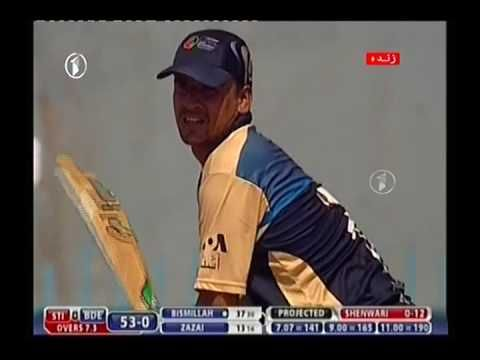 Bismillah Khan 43 Runs In Shpageeza Cricket League 2016 League Youtube Players