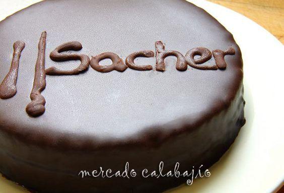 Receta de Tarta Sacher (Sachertorte), pasión por el chocolate | Mercado Calabajío | Blog de cocina con recetas paso a paso