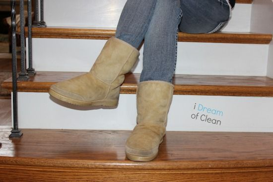 How To Clean Ugg Boots Cleaning Ugg Boots Ugg Boots Clean Suede Boots