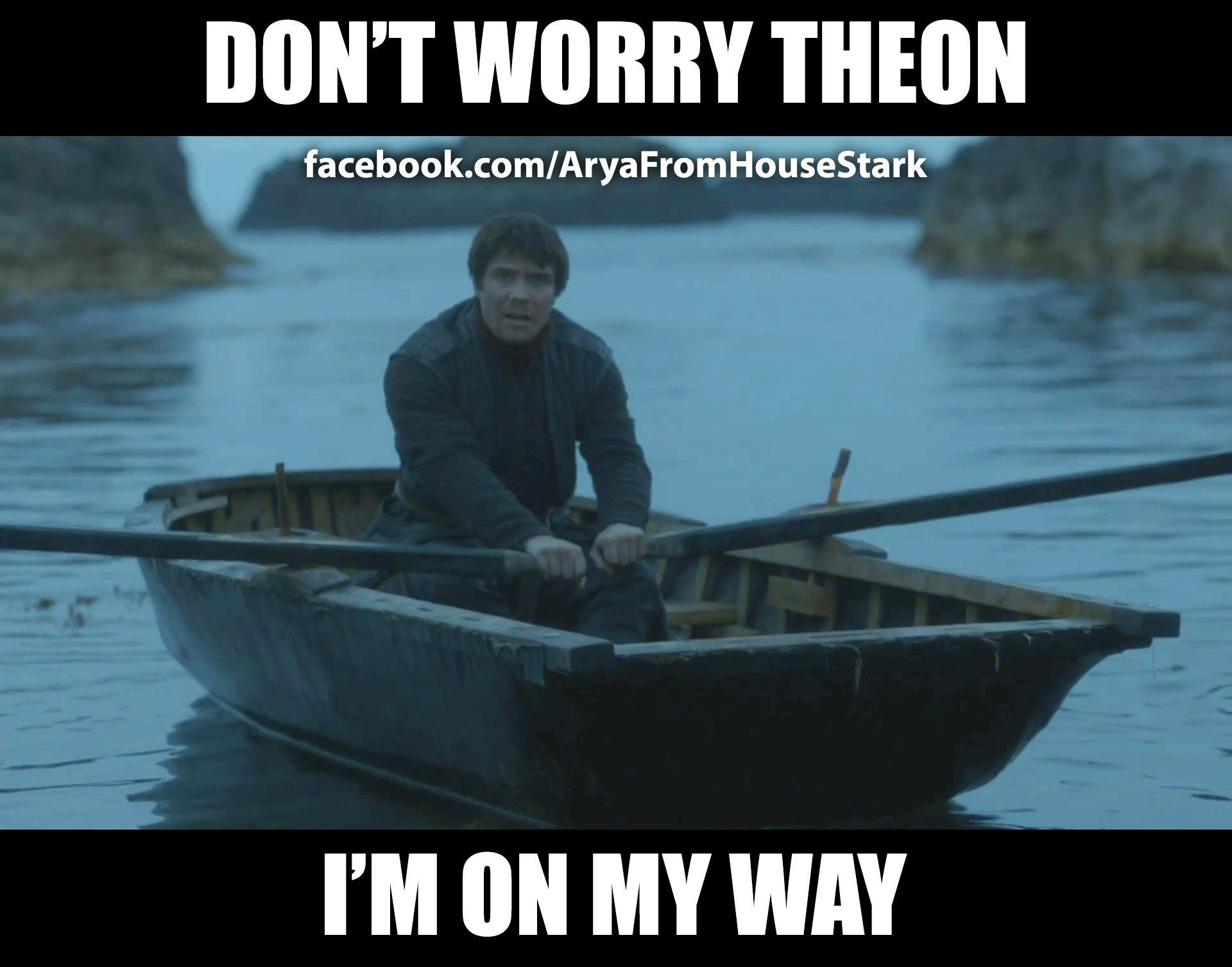 Hes Still Rowing Anyone Seen Gendry Lately Game Of Thrones