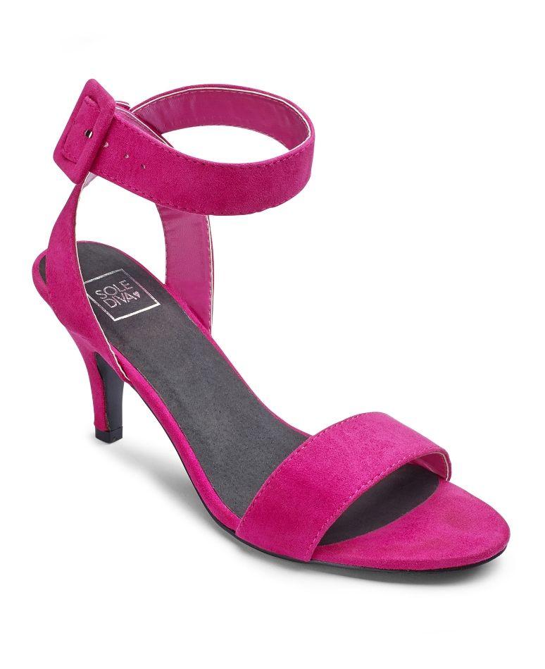 4f8216b4e Sole Diva Strappy Shoes E Fit - Additional View1